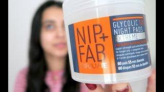 REVIEW: NIP + FAB GLYCOLIC FIX NIGHT PADS EXTREME | ASimpleMix