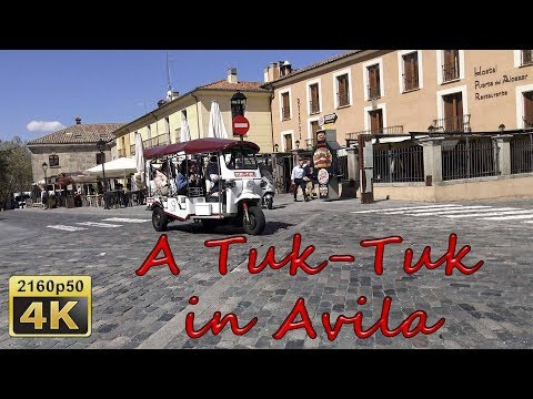 Avila by Tuk-Tuk - Spain 4K Travel Channel