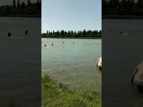 Краснодар Городской пляж Старая Кубань Где купаться Краснодаре лето 2019