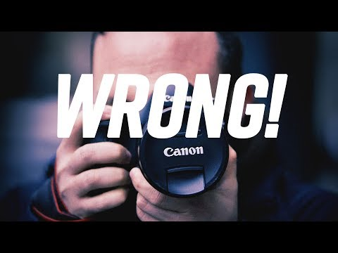 Using Your Camera Wrong? Here are 8 Common Mistakes