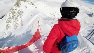Skiing the mountains of Meribel - 2018 [GoPro Black 5]