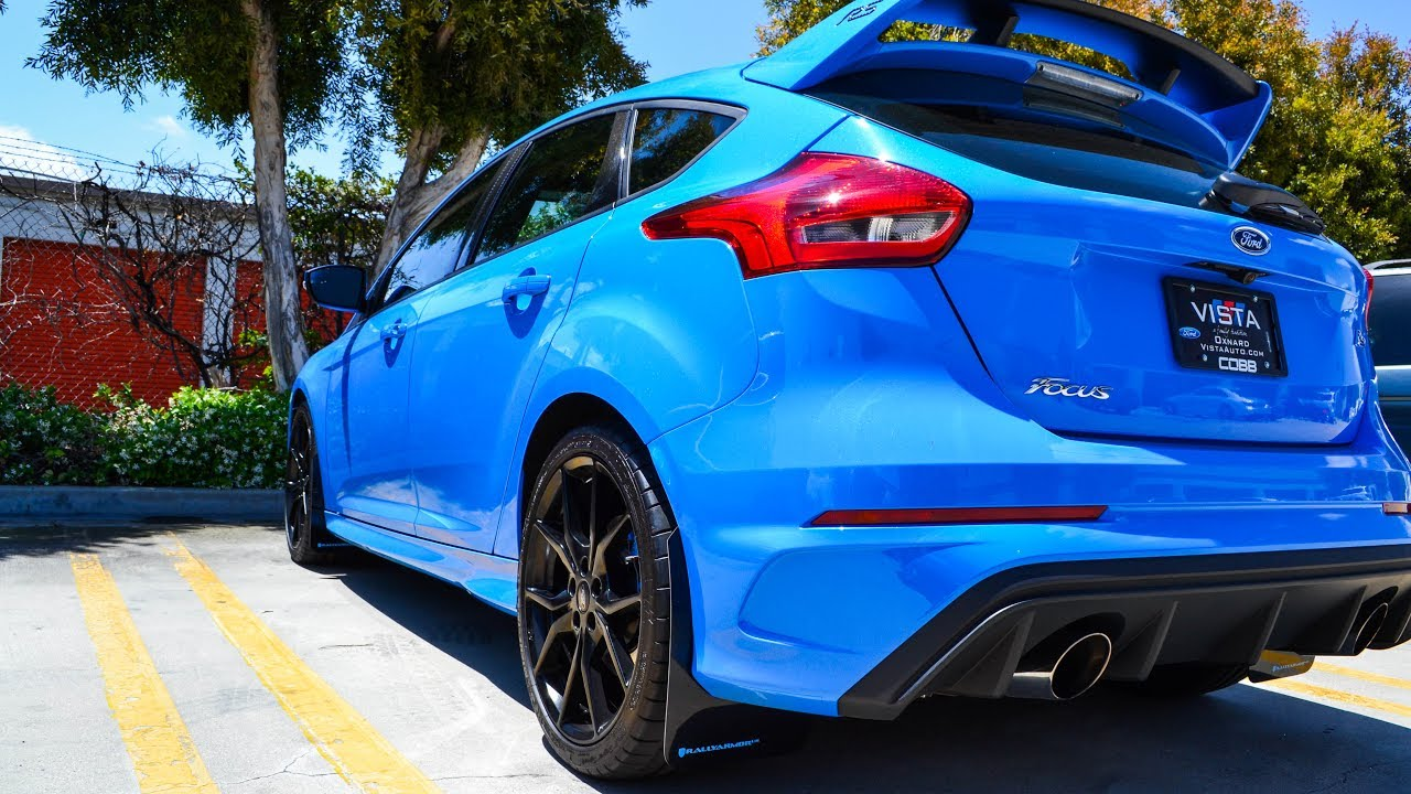 Rally Armor Mud Flap Install For The Ford Focus Rs St