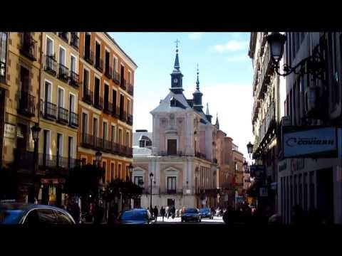 Madrid, Spain: Calle Mayor, the main street in the old city