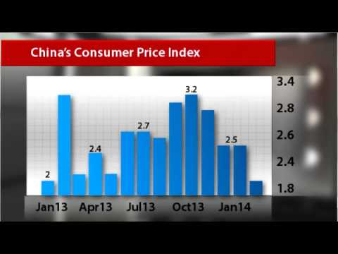 Chinese inflation slows down