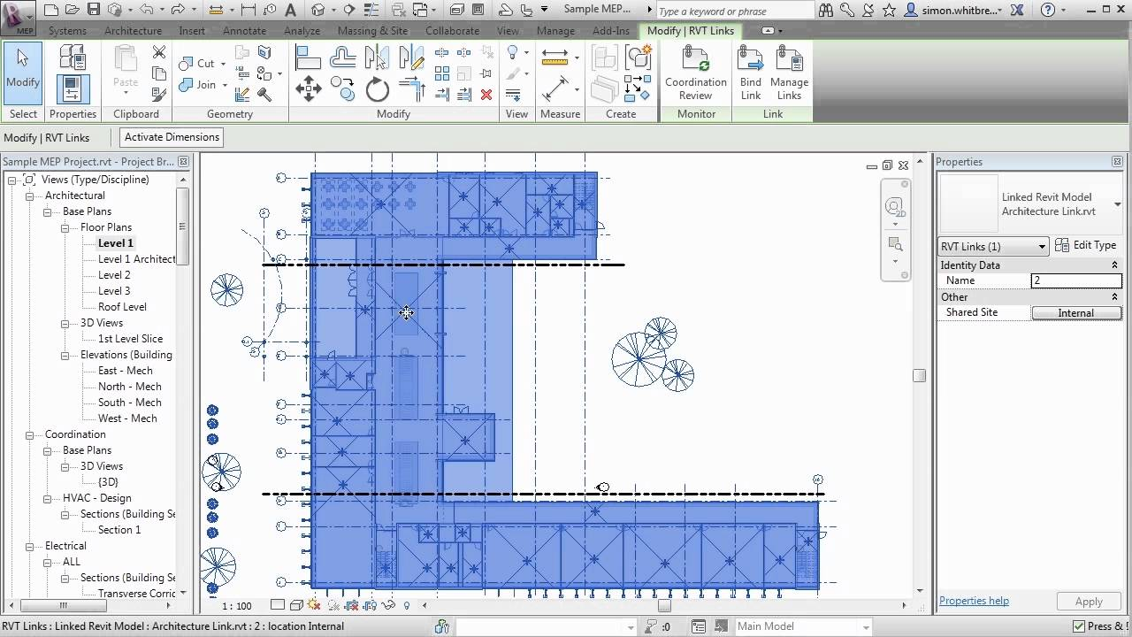 Revit Mep 2013 Tutorial Rooms And Room Tags Youtube