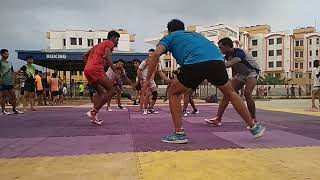 Kabaddi practice in patliputra sports complex