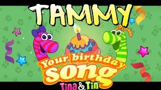 Tina&Tin Happy Birthday TAMMY
