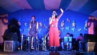 egra contai new 2018|| Sunil and Pinki Duet Comedian Anchor | black dimond 9