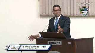 30ª Sessão Ordinária - Vereador Sergio Leiteiro