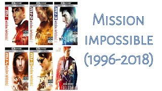 How to watch mission impossible all movies in hindi dubed