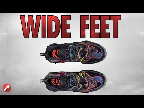 Top Shoes For WIDE Feet!