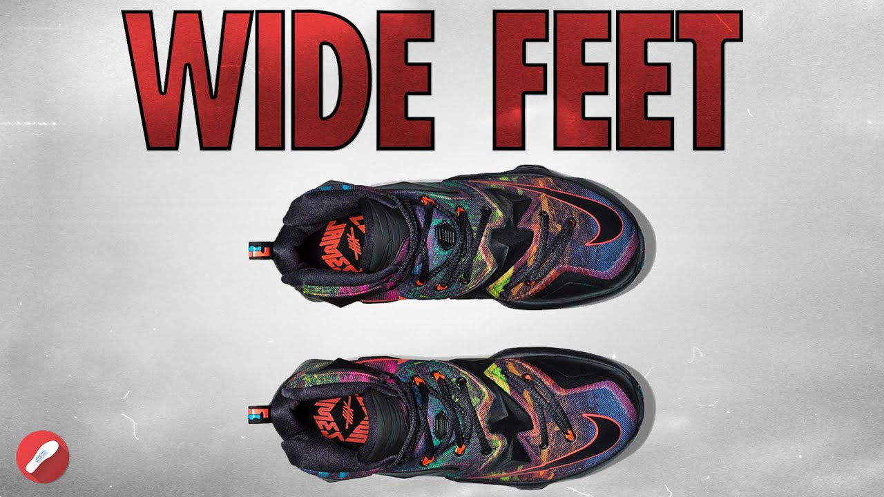 Top Shoes For WIDE Feet! - YouTube