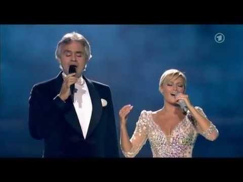 Helene Fischer und Andrea Bocelli - Vivo Por Ella - Helene Fischer Show 2015