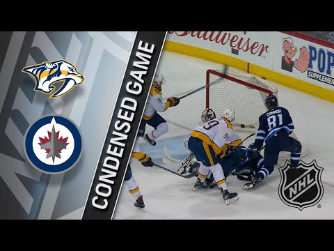 03/25/18 Condensed Game: Predators @ Jets