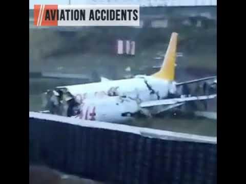 Crash of Pegasus flight PC2193 from Izmir to Istanbul's Sabiha Gokcen airport