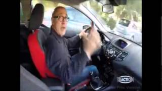 Traction~Ford Fiesta 1.0 140PS Black/Red Edition 2015(Test Drive)