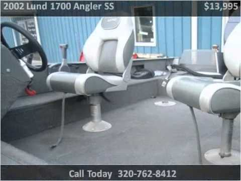 2002 Lund 1700 Angler SS Used Cars Alexandria MN - YouTube