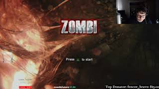 I really hate horror games. Zombi Stream #1 (Part 1)