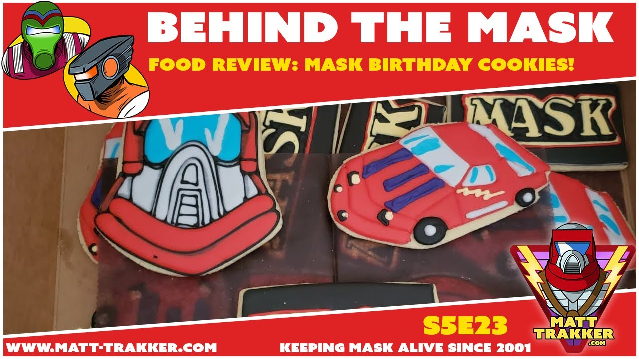 Food Review: MASK Birthday Cookies! - S5E23