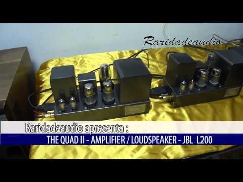 The Quad II Amplifier /  Loudspeaker - JBL L200