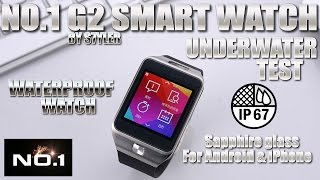 NO.1 G2 Smartwatch [WATERPROOF TEST] Sapphire Glass, Waterproof - 1:1 Samsung Galaxy Gear 2 Clone
