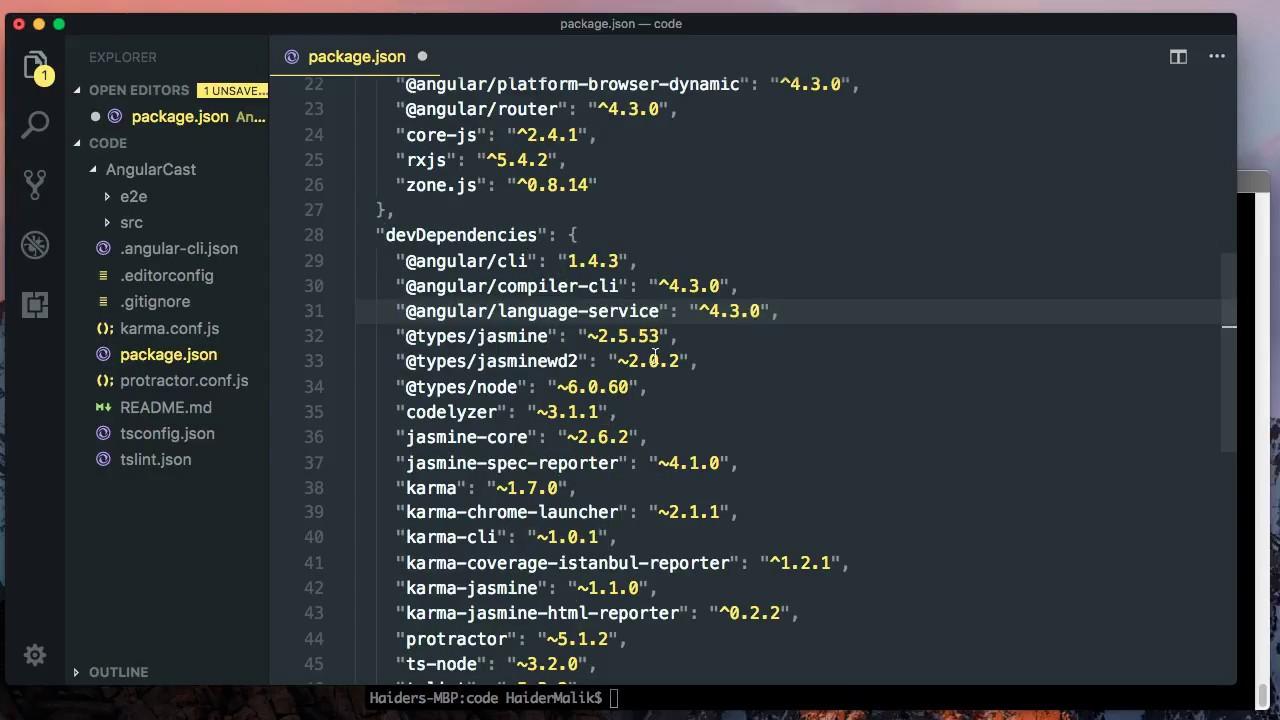 Create Angular 4 3 Project Using Angular-cli - Haider Malik - Medium