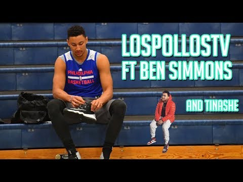 Los Getting Roasted LosPollosTv Plays Fortnite With Ben Simmons And Tinashe thumbnail