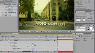 After Effects Tutorial - Create 3D Text onto live action Footage HD