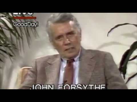 John Forsythe on Linda Evans, his father, and aging.