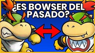 ¿BOWSER JR. o BOWSY es Bowser del pasado?