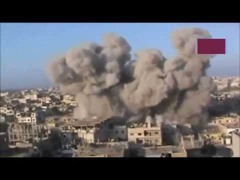 New Rusia army and French army Airstrikes to isis on Syria