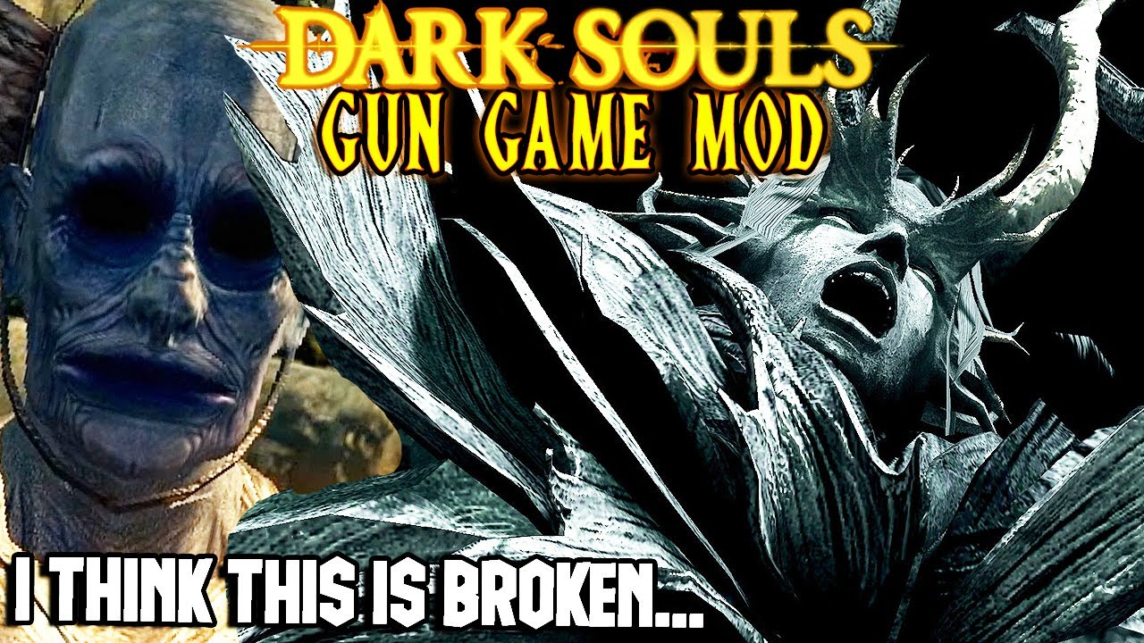 Download I Think I Might Have Found An Impossible Boss...-Dark Souls Gun Game Mod Funny Moments 4