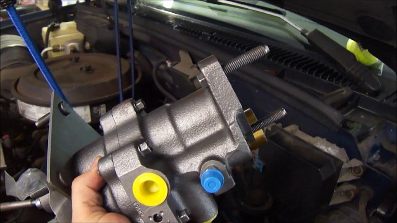 1993 GMC Sierra Power Steering Hydro Boost Replacement  YouTube