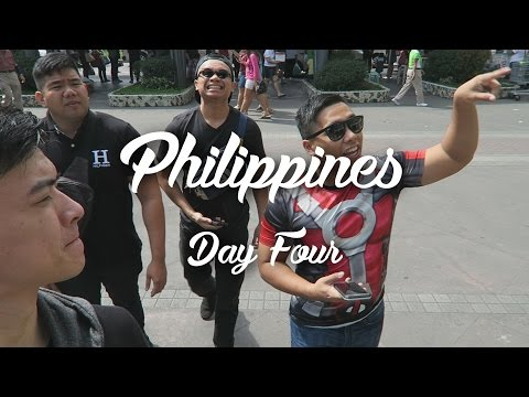 Philippines Day Four (Laser Tag & Rock Climbing)