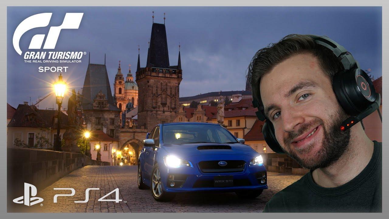 ZÁVODÍME NA PS4! | Gran Turismo Sport