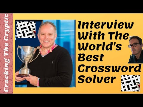 Interview With The World's Best Crossword Solver