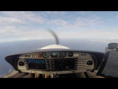 DA40 PHNL to PHJR Practice IFR departure and GPS Approach