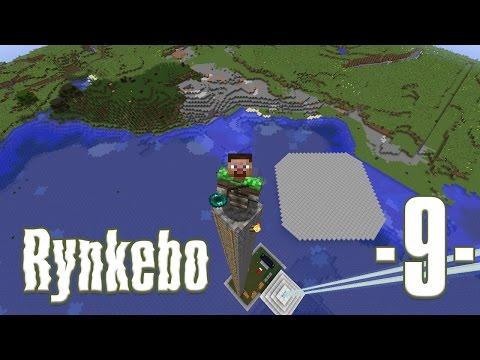 Dansk Minecraft - Rynkebo #08 - Elytra, sugar cane og heksefarm (HD)