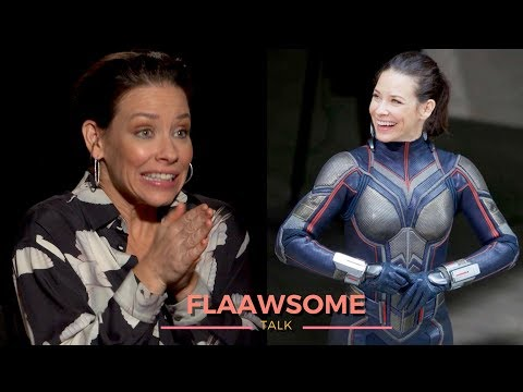 'ANT-MAN' Evangeline Lilly Was Freezing Her Ass off In Wasp Costume (NEW 2018)