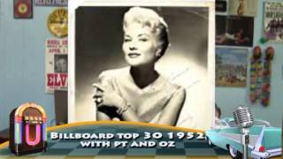 Billboard 1952  Patti Page with Pt n oz I went 2 your wedding