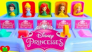 Disney Princess Pop Up Surprises Ariel, Cinderella, Belle Best Learn Colors and Counting