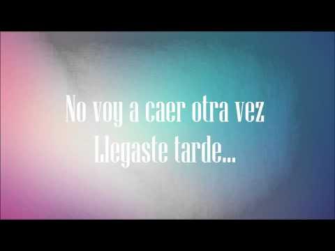 Decidiste Dejarme - Camila - [Letra]