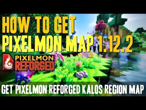 How to get Pixelmon Map 1.12.2 - download and install Pixelmon Reforged Kalos Region Map 1.12.2