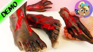 TANGAN + KAKI MACAM BETUL! Benda prank yang menakutkan untuk Halloween - Mesti terkejut!