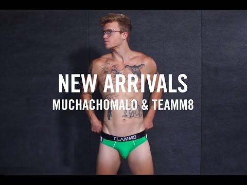 2017 Mens Fashion in Underwear | New Arrivals: Muchachomalo & Teamm8