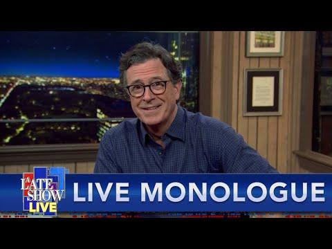 Like Flies On What? Stephen Colbert Goes LIVE After The Pence-Harris VP Debate