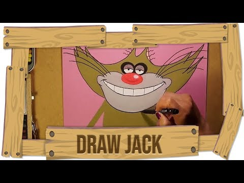 Oggy and the cockroaches ???? Speed Drawing ???? JACK ????FAN MADE