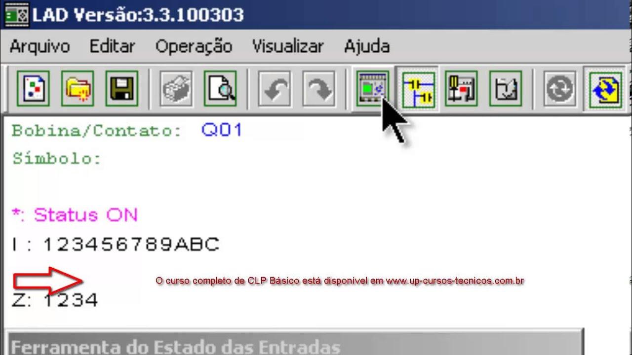 c8ff1f6ea70 Curso básico de CLP - Utilizando o WEG Clic 02 - YouTube