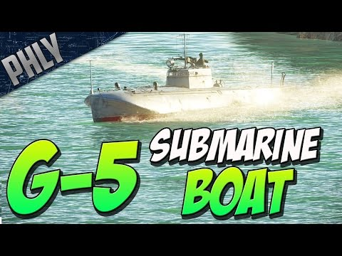 SUPER FAST 95KMH BOAT - Russian G-5 Torpedo Boat (War Thunder Naval Forces Gameplay)
