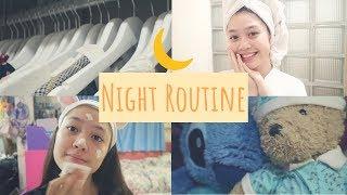 My HomeSchool Night Routine || 2018